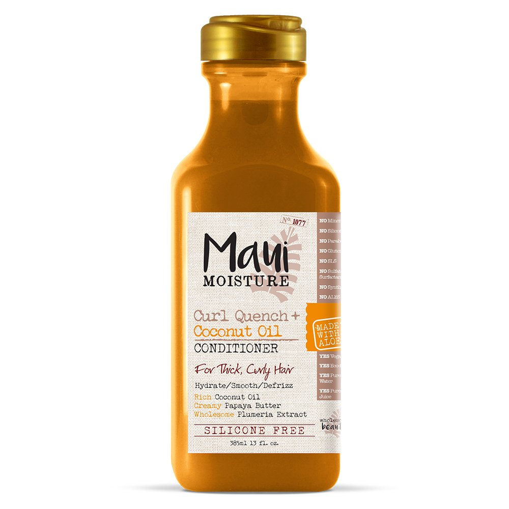 Maui Moisture Curl Quench and Coconut Oil Conditioner